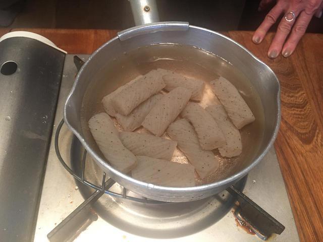 画像2: チーズ入り鯖みそコンニャク