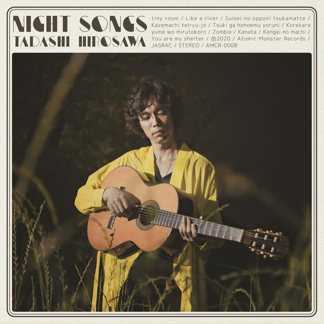 画像: album【Night Songs】 | 広沢タダシ Online Shop powered by BASE