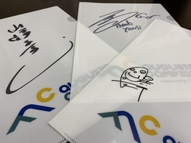 画像1: ③【Augusta Camp 2020 オリジナルクリアファイル】を3名様に!(山崎まさよしさん・長澤知之さん・松室政哉さんそれぞれ直筆サイン入り!)