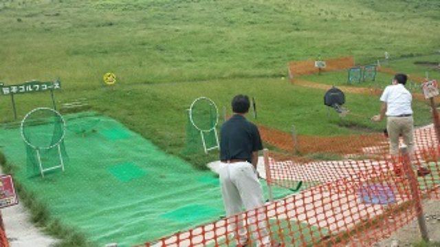 画像: ↑大人も子供と一緒に楽しめます!パパはきっとゴルフに夢中になるはず!↑