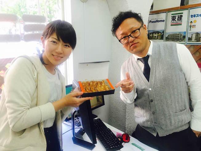 画像1: 11月20日:「伊丹のみなさんのお昼休み餃子化計画!!」