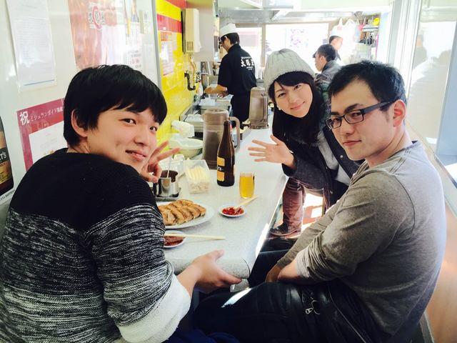 画像: 【大阪王の美味しい餃子 彩名と一緒に食べませんか〜?】