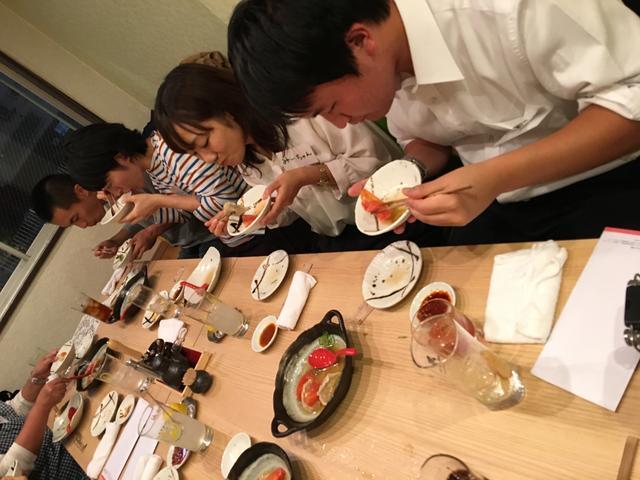 画像8: 召し上がっていただいた料理は全部で、8品。