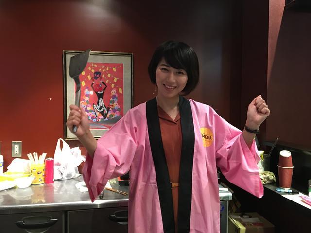 画像2: 「大阪王の餃子」今年も振舞いました♥