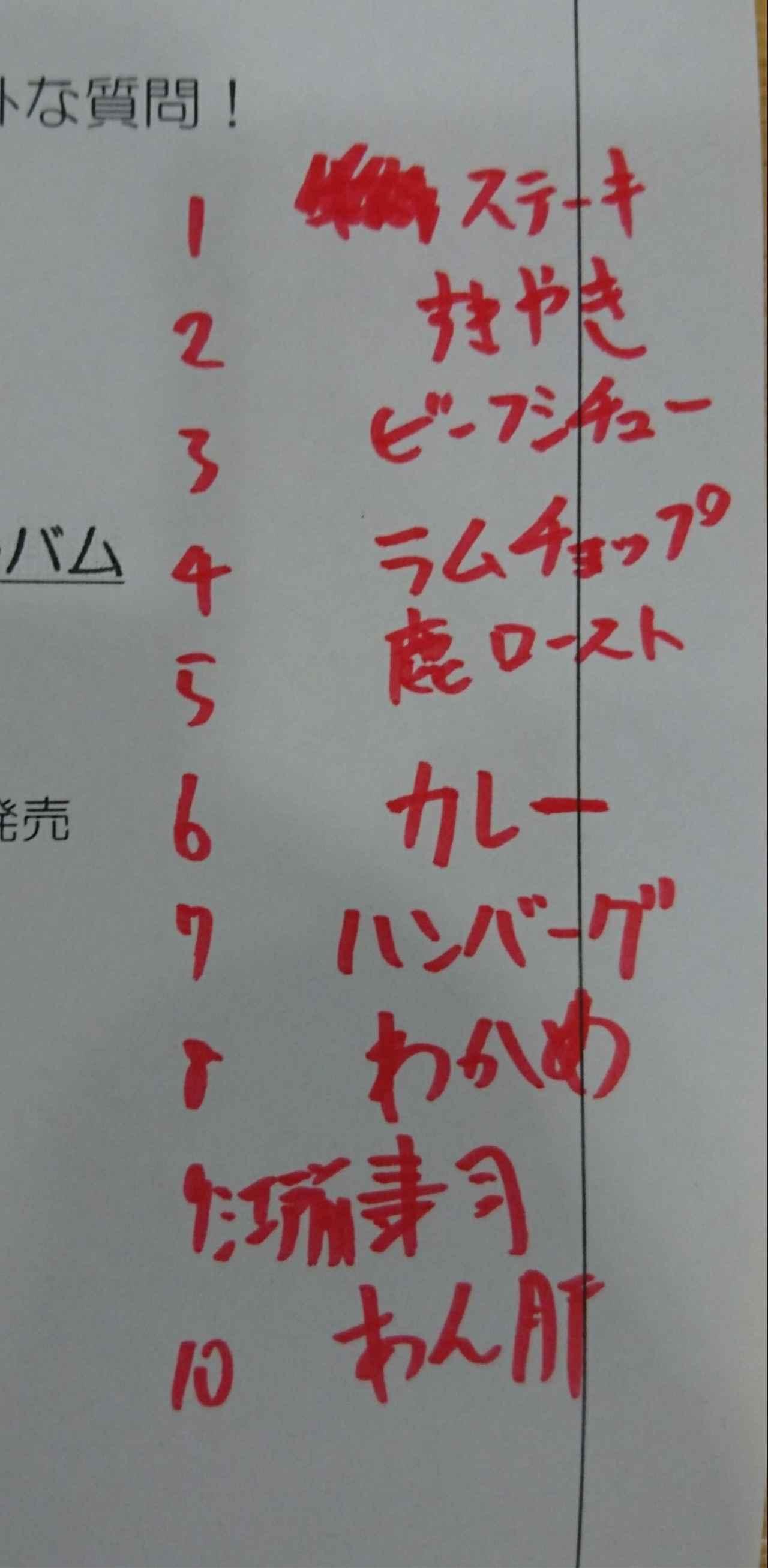 画像: 金廣さんの好きなものベスト10!!