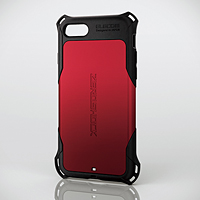 画像: iPhone 8用ZEROSHOCK/スタンダード - PM-A17MZERORD