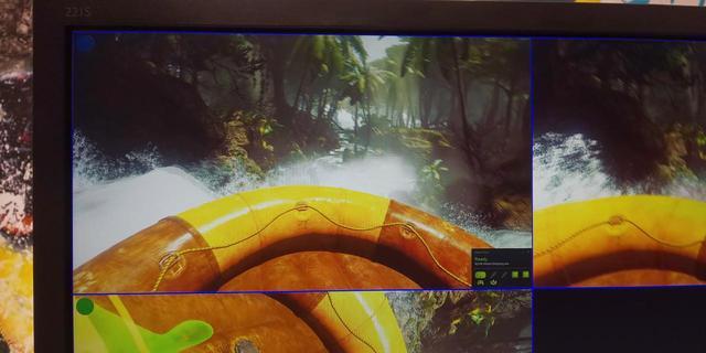 画像2: 「冒険川下りVR ラピッドリバー」