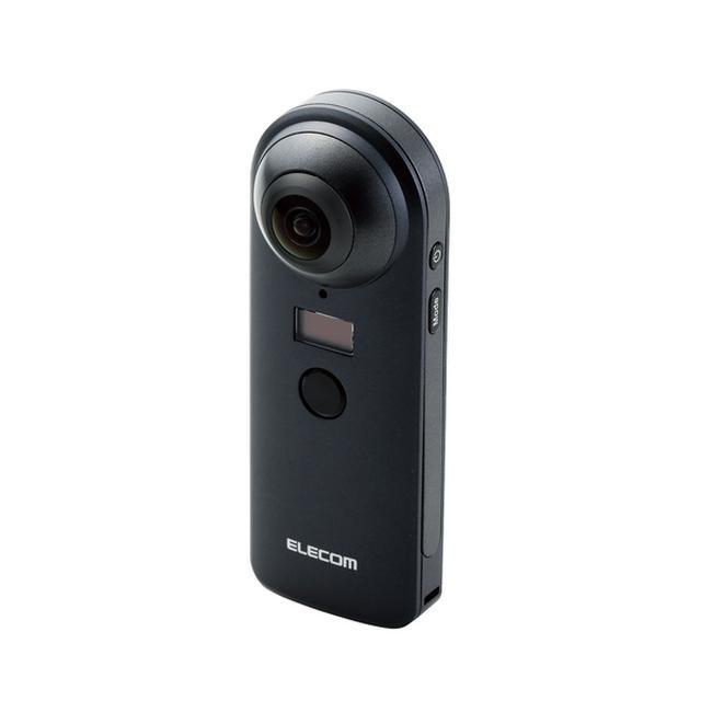 """画像: 4K対応VRカメラ""""OMNI shot"""" - OCAM-VRW01BK"""