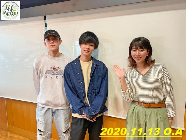 画像: 11月13日:ゲスト「Ochunism」曽根凪渡(Vo,)さん、中村直人(Gt,)さん