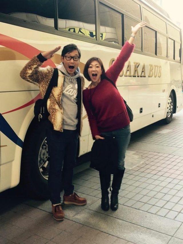 画像: 「hug+」のDJ大塚由美さんと! 行ってきま~す♪