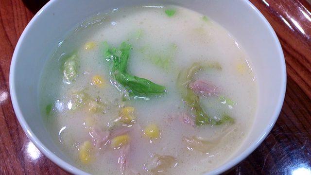 画像: ☆今日のおつまみは、『レンジで簡単!ツナとレタスのカップクリームシチュー』でした☆