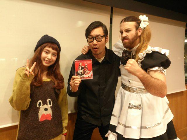 画像1: ☆今日のゲストは、トミタ栞さん、Ladybeardさんでした☆