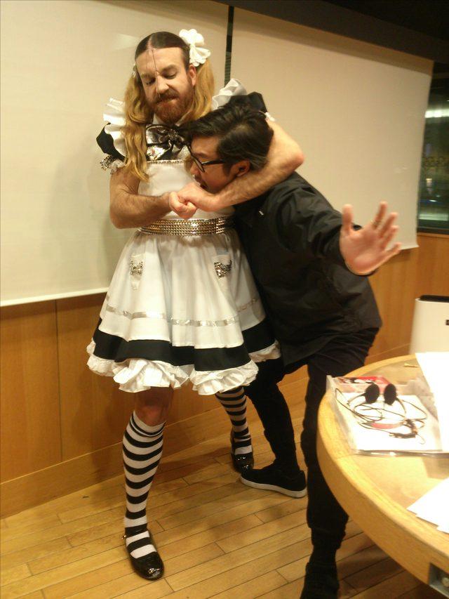 画像2: ☆今日のゲストは、トミタ栞さん、Ladybeardさんでした☆
