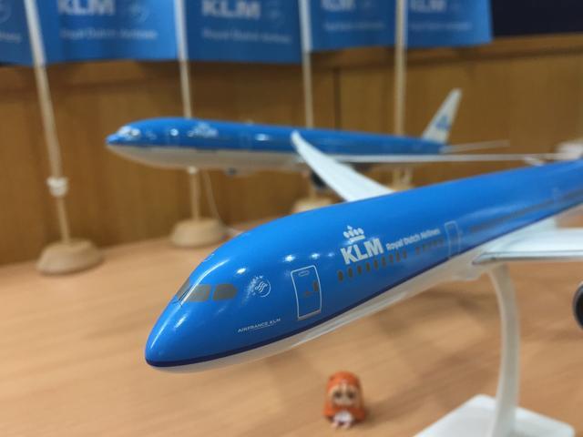 画像: KLMボーイング787-9!!