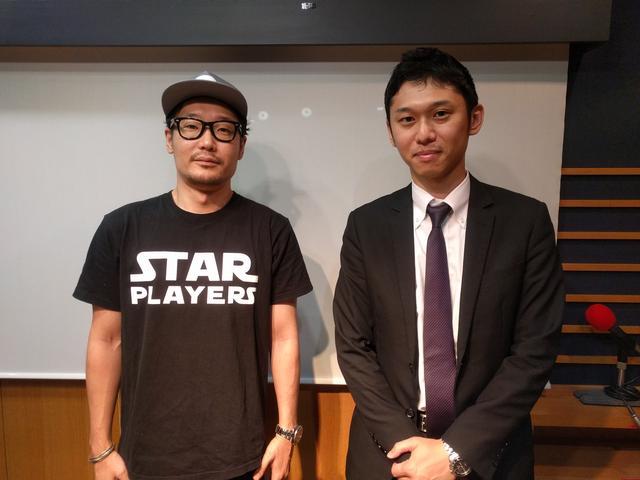 画像: オッズパークの橋本さんをお迎えしました!