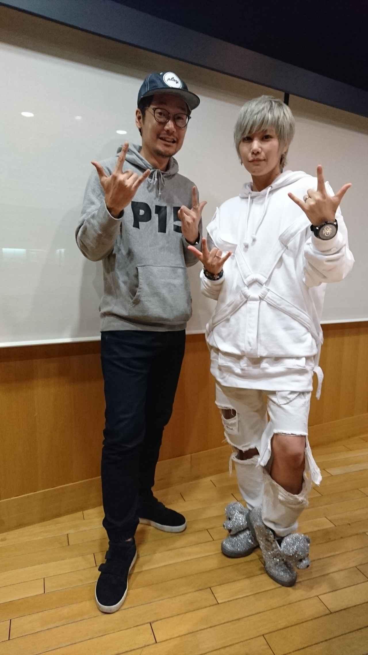 画像: 本日のゲストは、ZYUN.さんでした☆