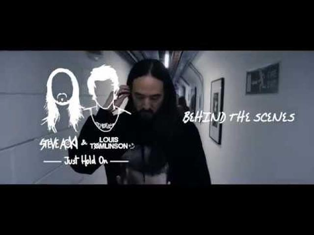 画像: Steve Aoki & Louis Tomlinson - Just Hold On [Behind The Scenes] youtu.be