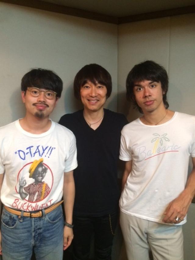 画像: 9月のマンスリーゲストは、OKAMOTO'S!!!