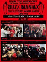 """画像: """"BUZZ MANIAX""""2012.10.27 Namba Hatch"""