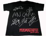 画像: ↑かなり激レアな番組公式BUZZ ROCK Tシャツ 世界に1枚! (アンカフェ全員のサイン入り)です。 アンカフェのリクエスト&要望のメール次第でプレゼントしま〜す!!! もうしばらくお待ちください!.........................。 BUZZ ROCK毎週聞けばイイ事あるよ〜0(≧∀≦)0> BUZZはアンカフェも好き!NOIZも好き!もちろんジャンヌも好き! 6月30日の番組はレアですよ〜!?