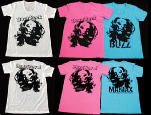 画像: produced by清春 BUZZ ROCK×清春×シドのコラボTシャツ[2デザイン、3色]