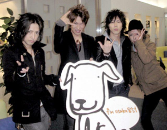 画像: シド全員がFM OSAKAに!!!(with 番犬ハチ)
