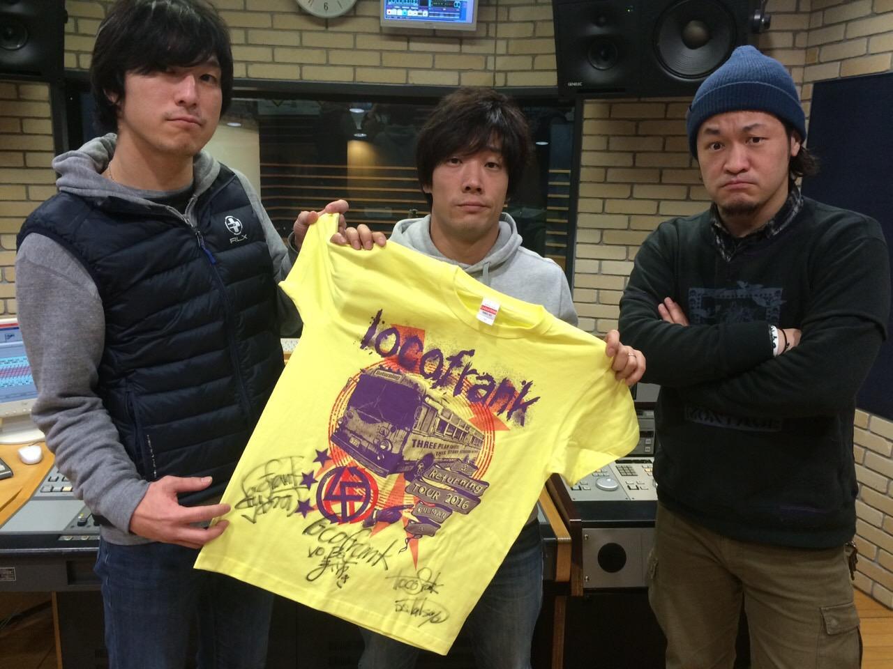 画像 2016.03.12【Present】 locofrank メンバー全員サイン入り「Returning」