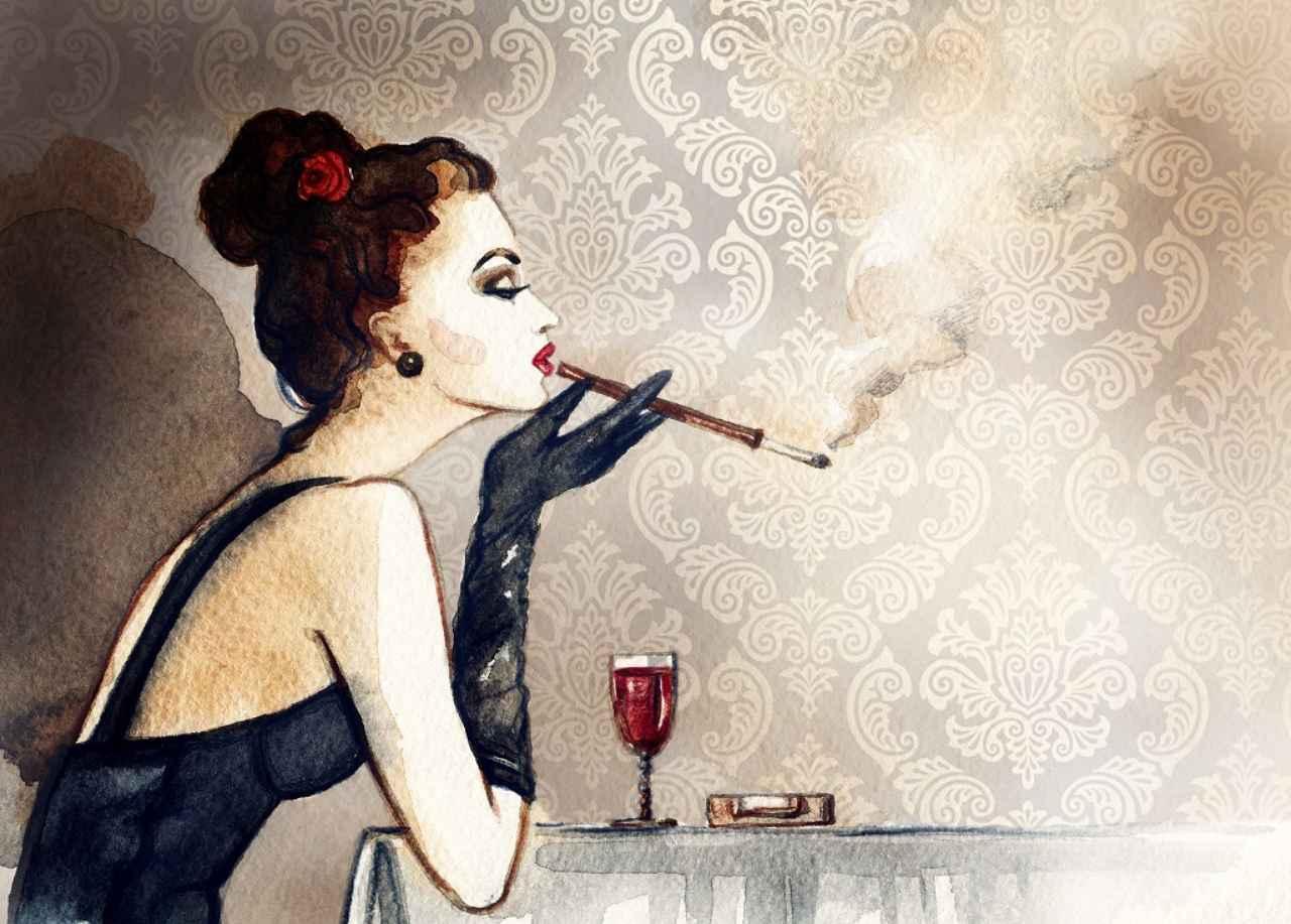 画像1: ④ 喫煙者