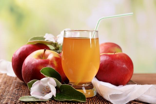 画像: ① リンゴジュース