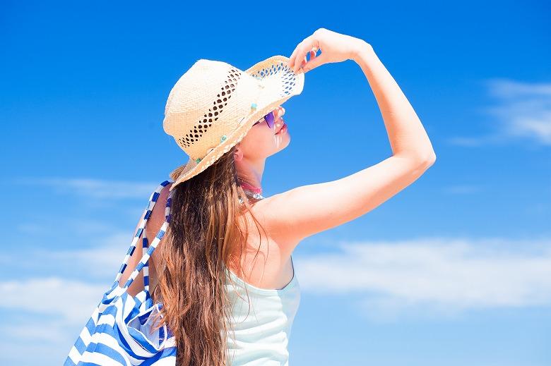 画像: シミの原因の多くは紫外線にある