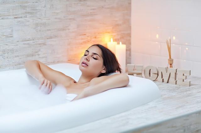 画像: ④20分の入浴