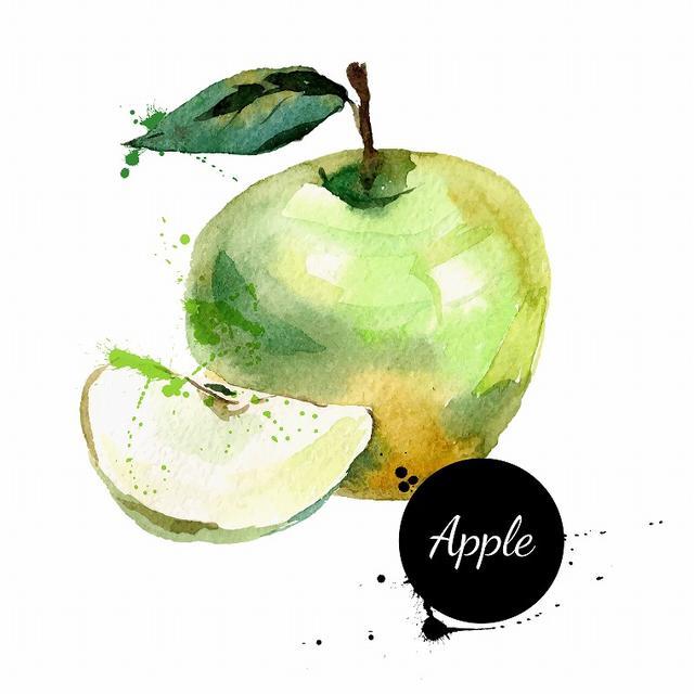 画像: ミネラル豊富な「りんご」