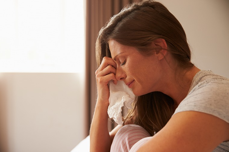 画像: とにかく泣くことで悲しい気持ちを癒していく