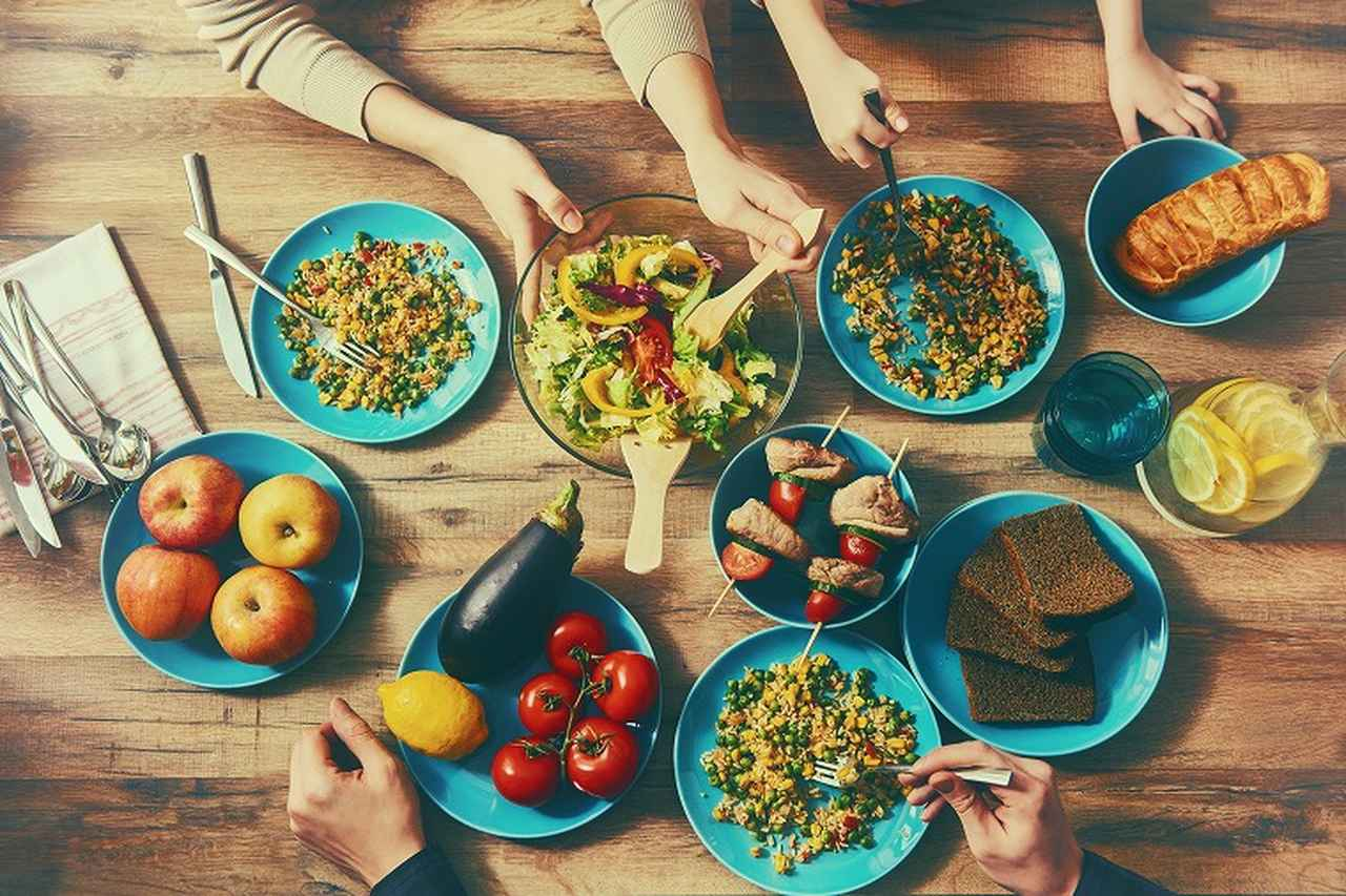 画像: ② バランスの良い食事をする