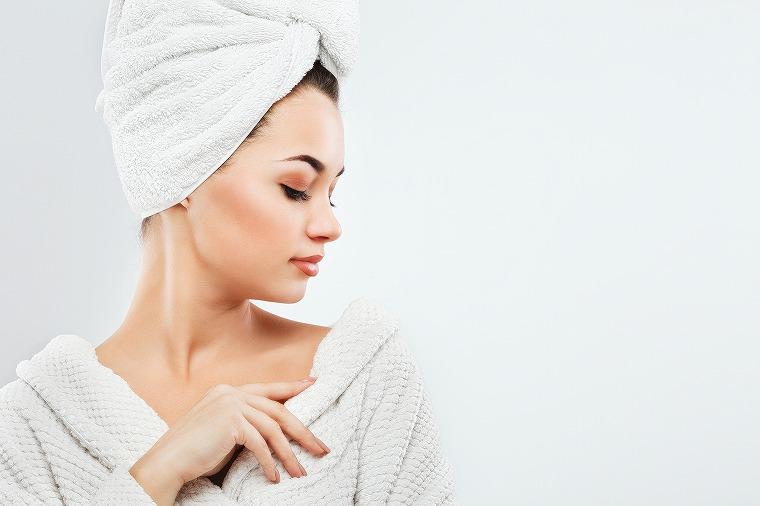 画像: 入浴の仕方で肌乾燥は加速する