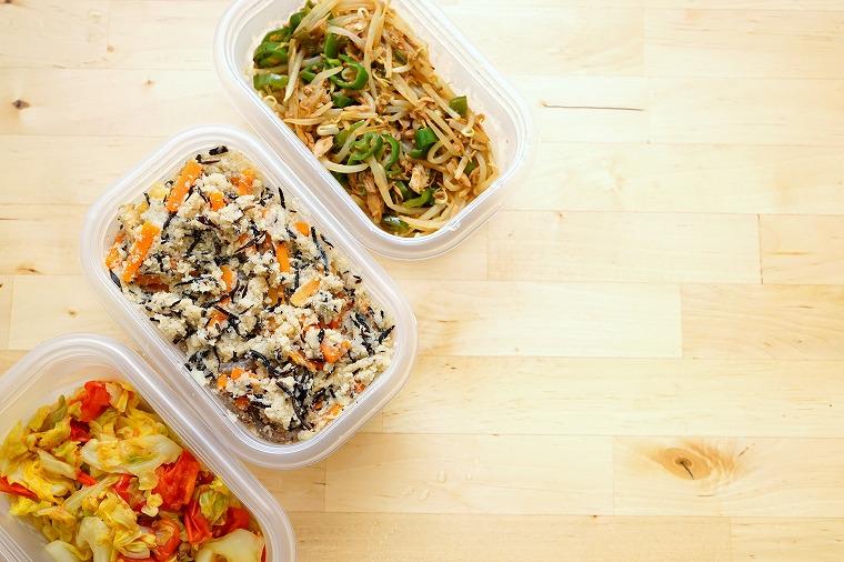 画像: ② お弁当箱とは別にサラダを1つ