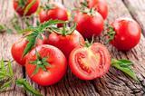 画像: ① 赤い野菜