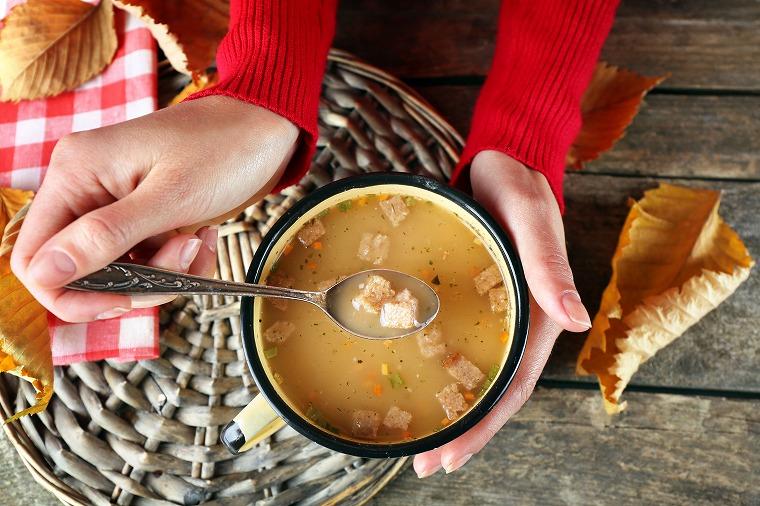 画像: ダイエット中の夜食におススメ!レンジで簡単スープレシピ - Curebo(キュレボ) 毎日を輝かせたい女性のためのニュースメディア