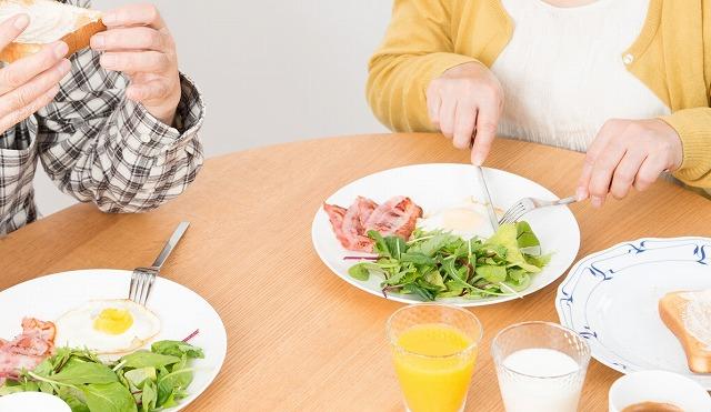 画像: 朝食を抜いている