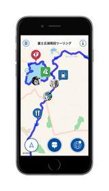 画像: スズキがiPhone用アプリ「ツーリングメッセンジャー」のサービスを開始!