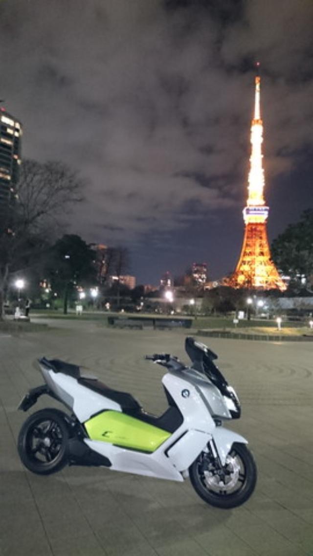 画像3: BMWの電動スクーター「C evolution」に乗ってみました!