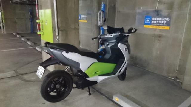 画像2: BMWの電動スクーター「C evolution」に乗ってみました!