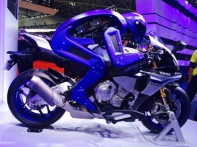 画像3: <理子のいまさらTMS2015> ロボットも3輪もカッコイイ!(福山理子)