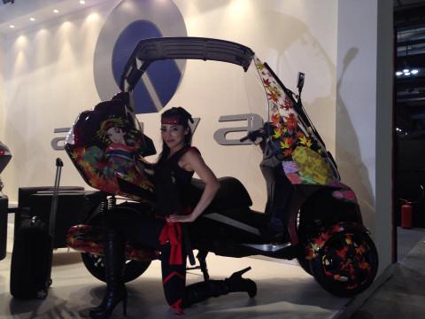画像18: EICMA2014のキャンペンガール特集 その3(福山理子)