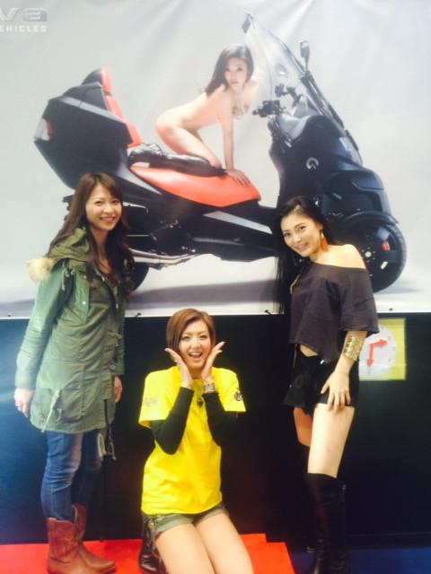 """画像8: 福山理子の""""いまさらモーターサイクルショー2014"""" (その15・最終回バイク業界を盛り上げたい。)"""