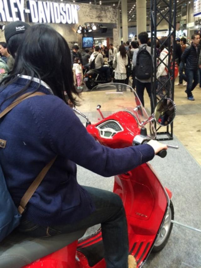 画像6: <いまさら東京MCS2015>ベスパってイイよね〜(福山理子)