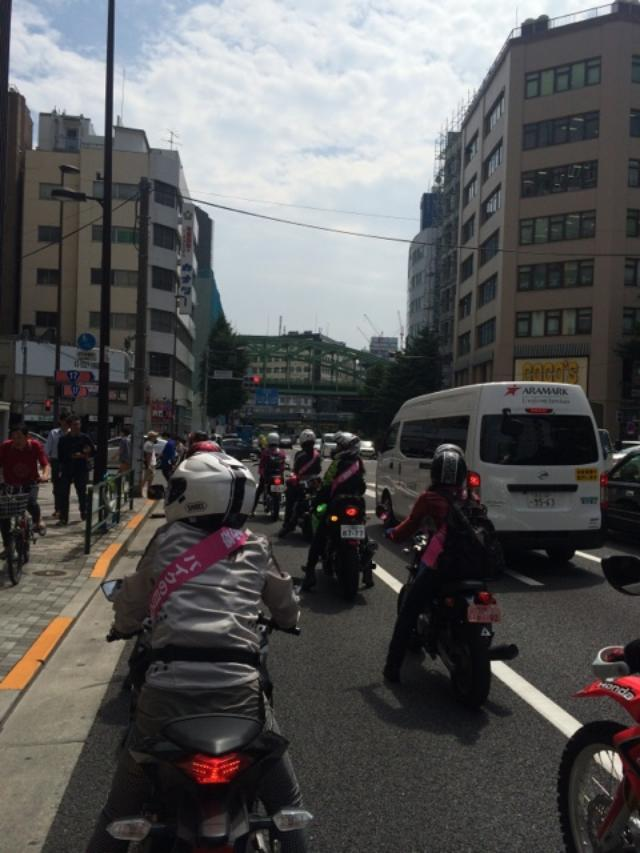 画像10: 女子だけでパレード。(福山理子)