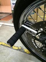 画像5: 超頑丈そうなバイクロックを頂きました!(福山理子)