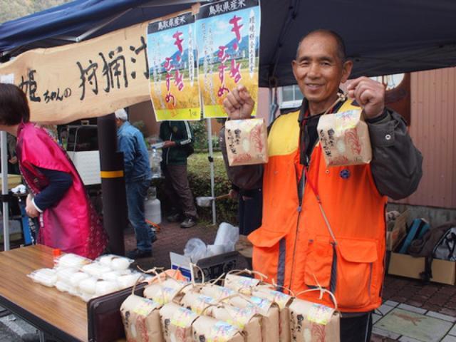画像: 鹿を打って捌いて料理するという北本さん。有機無農薬米も作っています。 鹿の打ち方、捌き方を教えてもらいましたが、この知識どうしましょう?