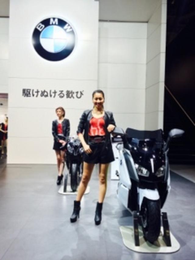 画像1: <理子のいまさらTMS2015> BMWブースで気になった1台(福山理子)